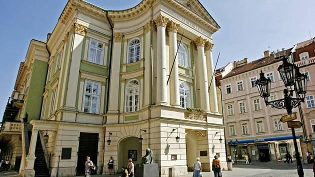 Stavovské divadlo.