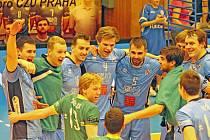 Volejbalisté ČZU Praha slaví čtvrtou výhru v řadě.