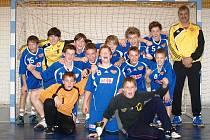 Starší žáci Dukly 6 ovládli turnaj ve Břvích