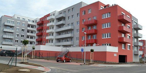 Nový bytový dům vHostivaři.