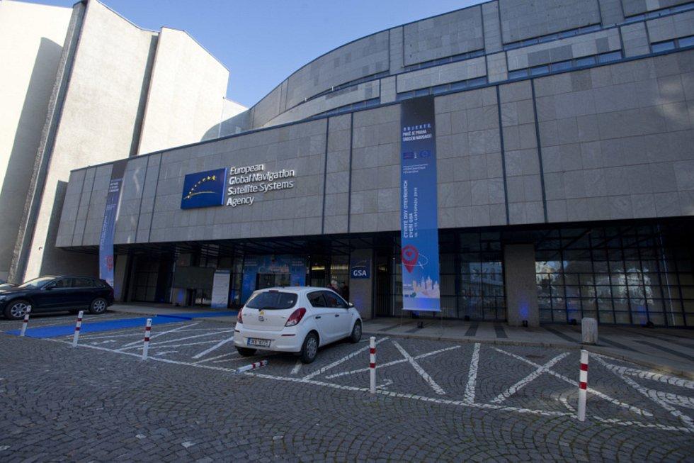 Sídlo Agentury pro evropský globální navigační satelitní systém Galileo (GSA) v Praze.