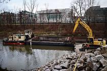 Zahájení modernizace plavební komory Štvanice.
