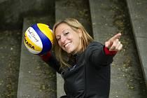SEZNAMTE SE, volejbalistka Lucie Vinecká.