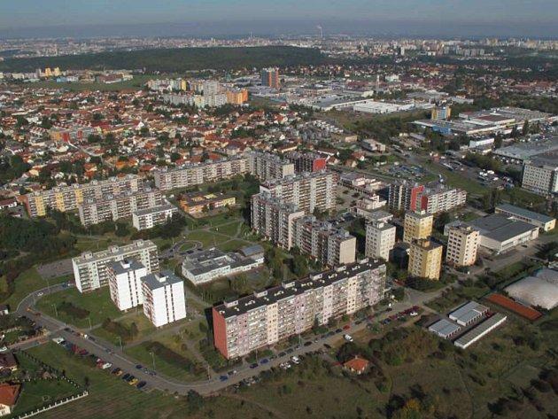 Sídliště Písnice.