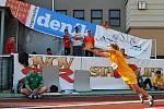 Nové foto ze sobotního dění na pražské Julisce, kde se koná druhý den finále celostátní sportovní soutěže OVOV (Odznak Všestrannosti Olympijských Vítězů)