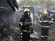 Požár v Nemocnici Na Bulovce