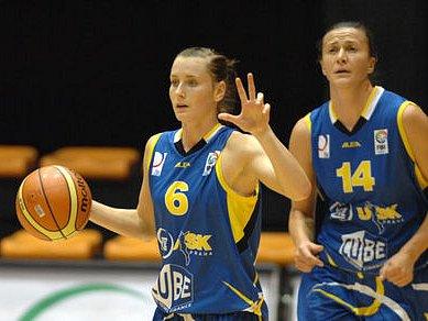 Basketbalistky USK Praha zaskočily favorizované Brno.