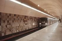 Stanice metra Sokolovská. Archivní foto.