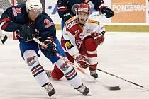 KONEČNĚ VÍTĚZSTVÍ! Proti Chomutovu zaznamenali teprve třetí výhru v letošním ročníku NOEN extraligy juniorští hokejisté Slavie.