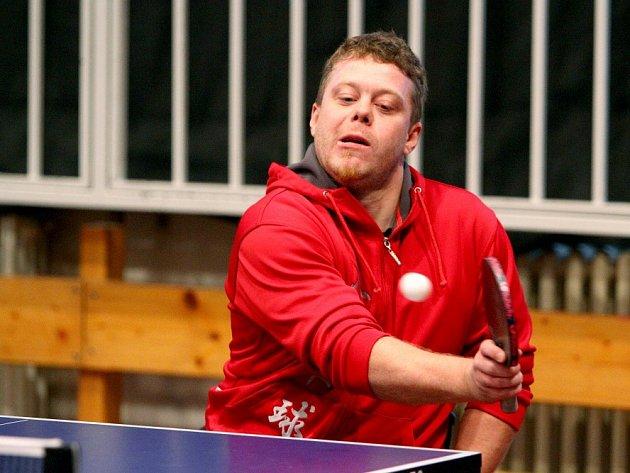 NEJLEPŠÍ PRAŽSKÝ HRÁČ Jan Mrázek skončil na Enersys cupu překvapivě mimo medailové pozice.