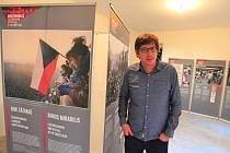 Historik Petr Blažek je autorem výstavy Rok zázraků. Československo a rozpad sovětského bloku.