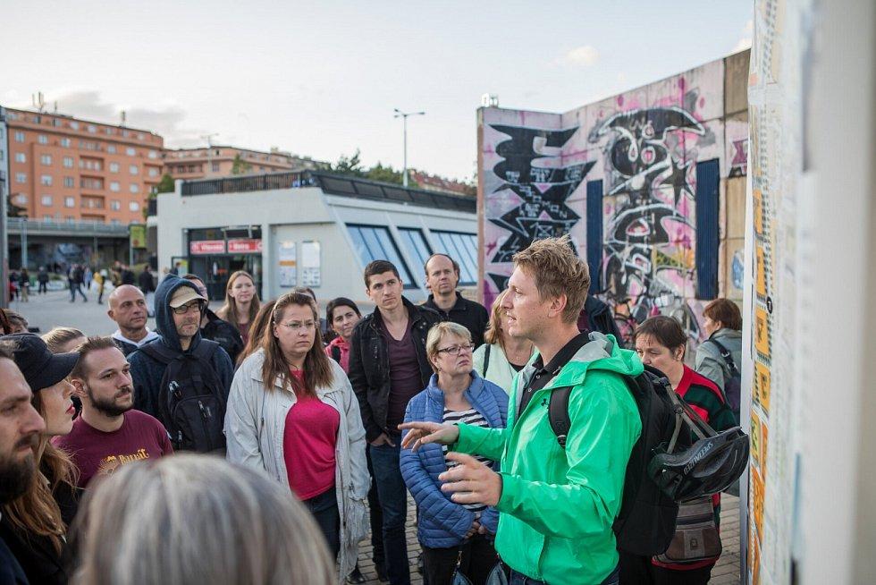 Pražany baví městské plánování. Letos jich informační kontejner navštívilo přes 4 000.