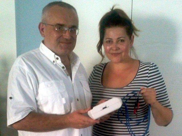 Doktor Leoš Středa a zpěvačka Ilona Csáková.
