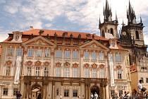Palác Kinských v Praze.