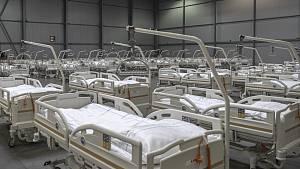 Polní nemocnice v Letňanech