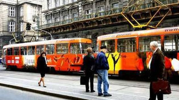 Tramvaj je sice ekologický dopravní prostředek, ovšem pro některé obyvatele hlučný.