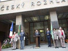 Pietní akt k 48. výročí okupace Československa vojsky Varšavské smlouvy