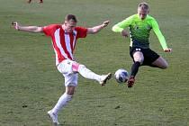 Žižkov doma padl i v druhém jarním  zápase, tentokrát nestačil na Prostějov (1:2).