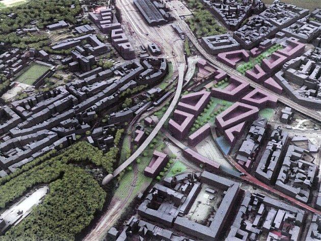 ROZHODNUTO. Místo kolejí by měla vyrůst nová čtvrť. Jen jestli to nechtělo nejdříve se zeptat lidí.