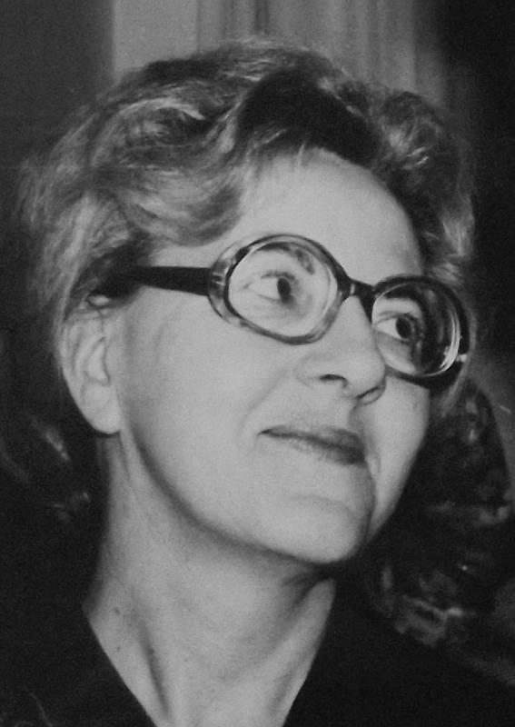 Věra Šťovíčková, dobová fotografie.