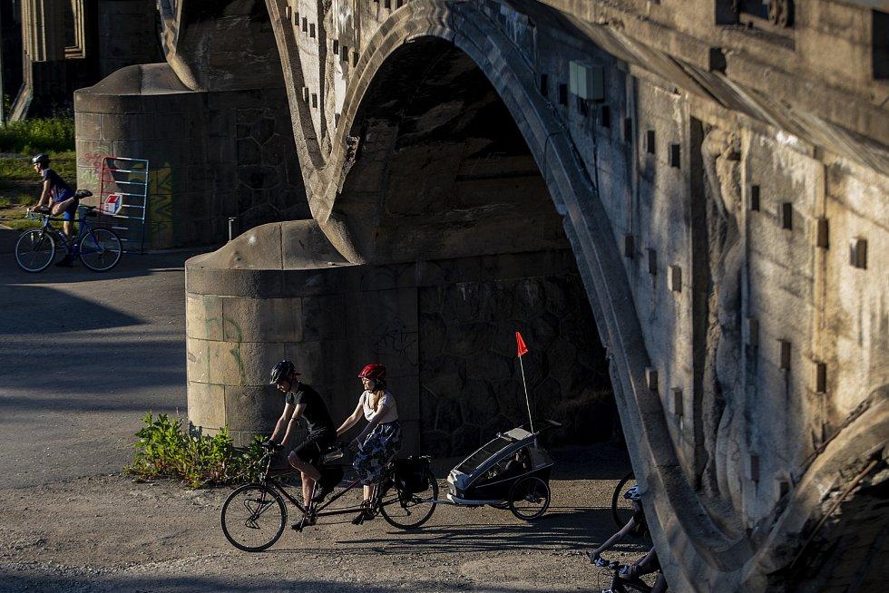 Cyklojízda projela centrem Prahy 3. června 2021.