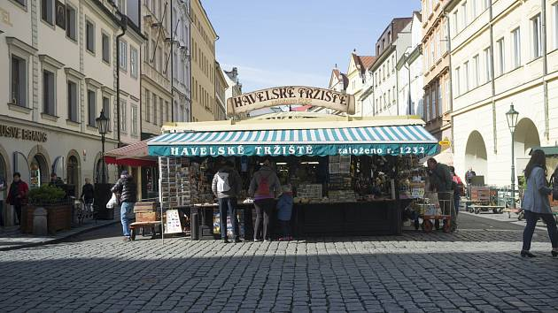 Praha neznámá, ulice Havelská, Praha, 24.4.2017