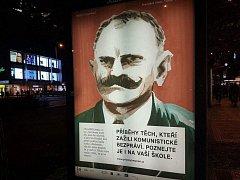 Plakát Příběhy bezpráví. Ilustrační foto.
