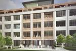 Meopta Košíře. Projekt investora YIT využívá budovu bývalého košířského podniku. Developer zde plánuje ještě letos zahájit proměnu továrního objektu na byty.