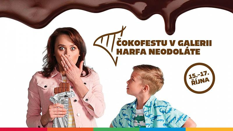 V Galerii Harfa na vás čeká po celý víkend Čokoládový festival.