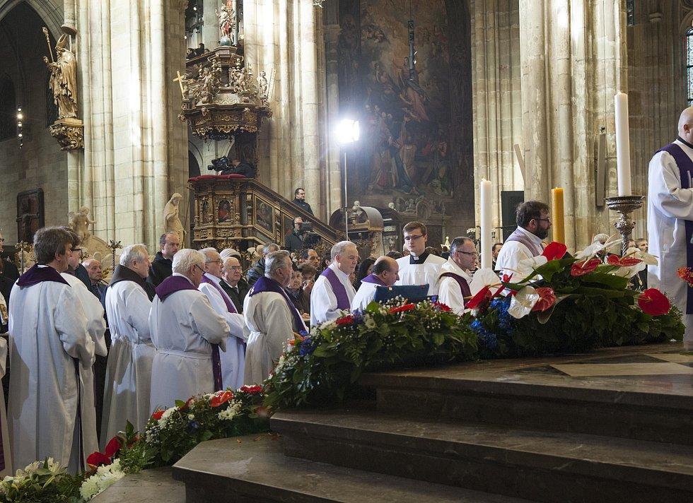 Pohřeb kardinála Vlka