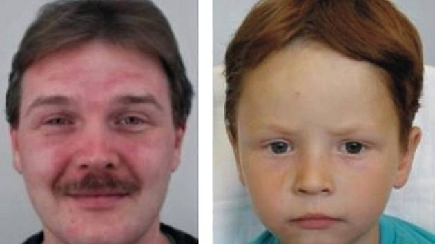 Policie hledá ztraceného chlapce, který je nejspíš se svým otcem.