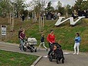 Slavnostní otevření parku Waltrovka.