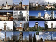 """Pražské vodárenské věže - Stál jsem před otázkou, jak budou věže v galerii řazeny za sebou. Podle abecedy nebo podle umístění ve městě? Nakonec zvítězil systém """"od nejstarší k nejmladší""""."""