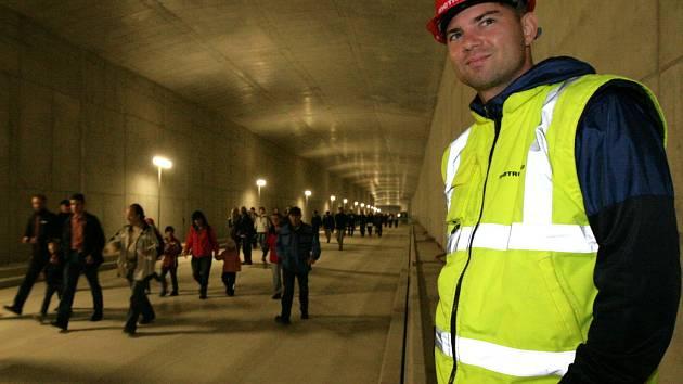 Den otevřených dveří tunelového komplexu Blanka