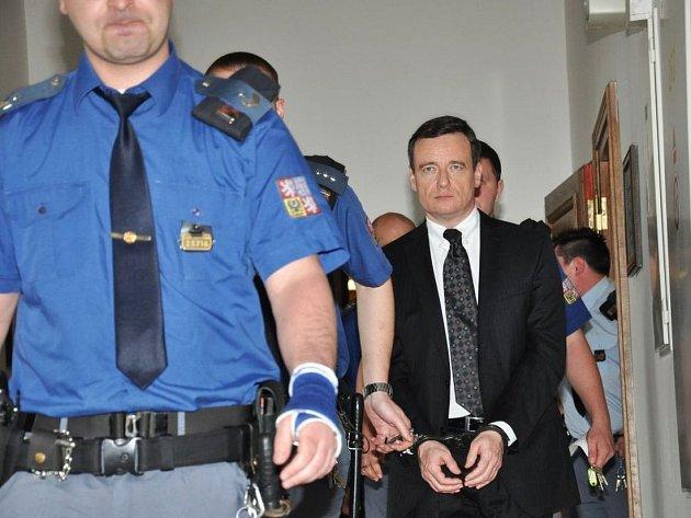 David Rath, Petr Kott a Kateřina Pancová zůstanou ve vazbě. Na snímku David Rath