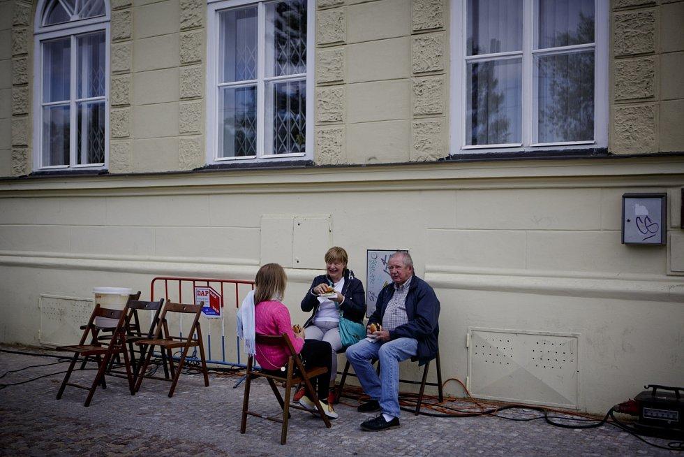 Smetanovo nábřeží v sobotu ožilo