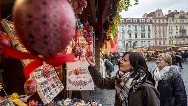 Velikonoční trhy. Ilustrační foto.