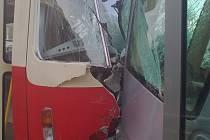Srážka tramvají: deset zraněných!