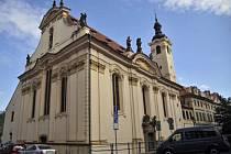 Barokní kostel svatých Šimona a Judy.