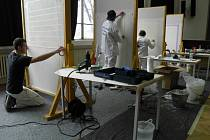 Malíři na soutěži Sollertia