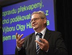 Pavel Šturm, předseda Pražského spolku neslyšících.