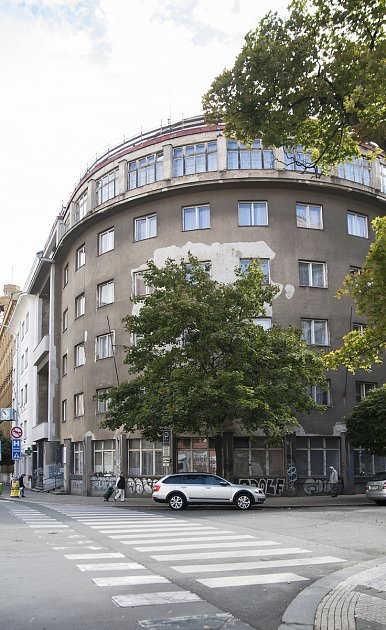 architekt Tyl, penzion Záchrana, Kubelíkova 1250/16 13.9.2017