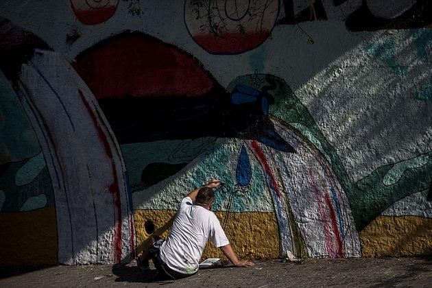 Polská umělecká dvojice Dwa Zeta malovala 21. září na zeď v pražské Prokopě ulici velký obraz s rajkami - ptáky, kteří žijí v deštných pralesech ostrova Papua a které ohrožuje kácení tropických pralesů v Indonésii. Streetart zprostředkovala organizace Gre