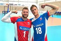 Za Lvy bude letos nastupovat i úspěšná dvojice českých reprezentantů Jakub Janouch (18) a Milan Moník.