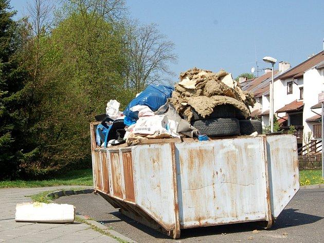 Velkoobjemový kontejner. Ilustrační foto.