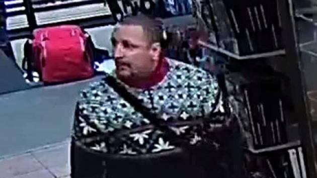 Policie hledá zloděje