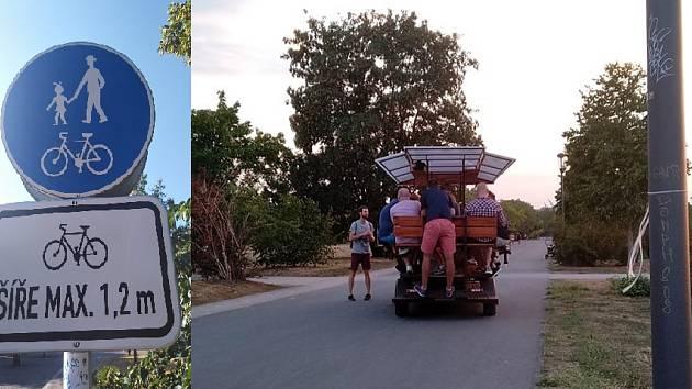 Pivní vozítka v Letenských sadech skončily