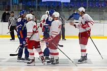Hokejisté Slavie ve čtvrtek prohráli přípravný zápas v Litoměřicích 2:5.