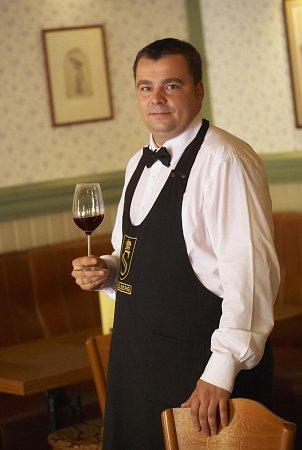Martin Žůrek - sommelier vinařství SPIELBERG.