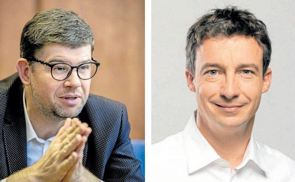 Jiří Pospíšil a Tomáš Portlík.